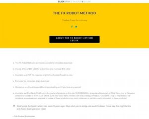 The FX Robot Method – Trading Forex For A Living