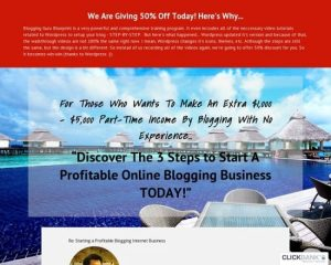 The Most Powerful Blogging Course To Make Money Online
