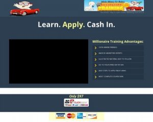 Make Money Online – Millionaire Training! Multi-media Training Course!