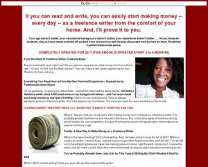 How To Make Money Writing Easy, 350-500 Word Web Articles