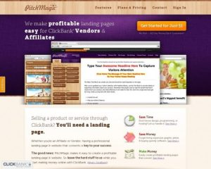 Pitchmagic: Landing Pages Made Easy For CB Vendors & Affiliates