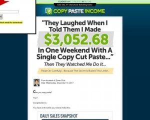 Ewen Chia's Copy Paste Income!