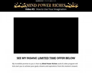 Mind Power Riches – 50% Commission