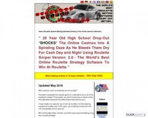 Roulette Sniper – CB's #1 Premium Roulette System