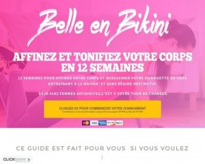Belle En Bikini En 12 Semaines
