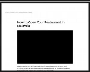 How To Open Your Restaurant In 8 Weeks