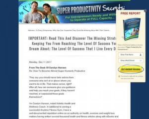 Super Productivity Secrets