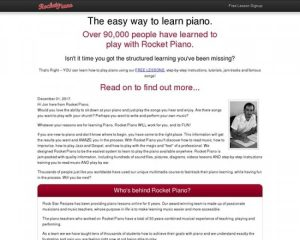Rocket Piano – Learn Piano Today!