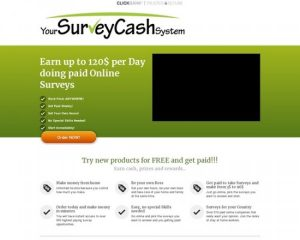 Yoursurveycashsystem The New Top Converting Survey Site On CB