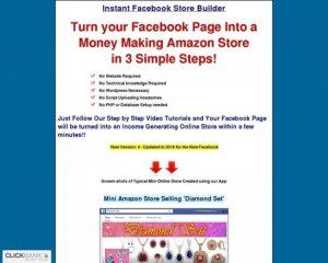 Fb Store Builder – Instant Facebook Store Builder