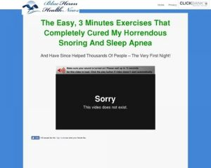 The Stop Snoring And Sleep Apnea Exercise Program