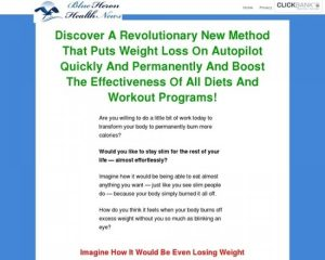 New Unique Weight Loss Method – Blue Heron Health News