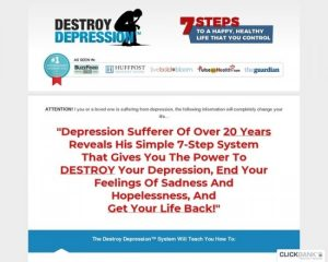 Destroy Depression ™ – Relaunched For 2019 – $100 Aff Bonus!