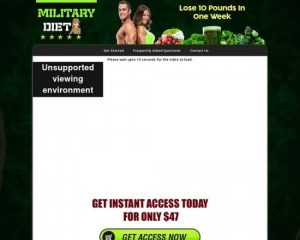 Military Diet – The Most Popular Diet Online Right Now!