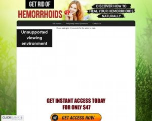 Get Rid Of Hemorrhoids – Discover How To Heal Your Hemorrhoids