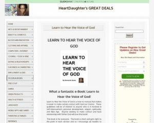 Learn To Hear The Voice Of God