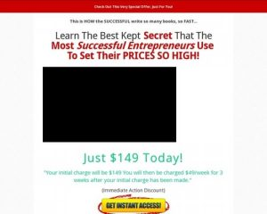 High Quality Business Book Writing Program Made Easy
