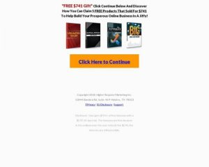 Give Away $741 Of Free Marketing Gifts And Get $48.50 Monthly