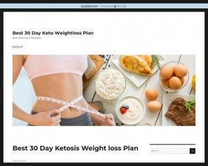 Best 30 Day Keto Weightloss Plan – Get Lean Quick For The Next Party