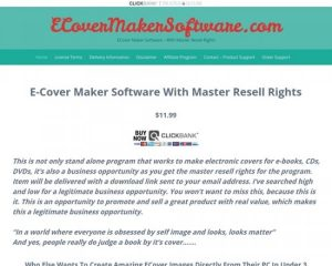 Ecover Maker Sofware With Master Resell Rights