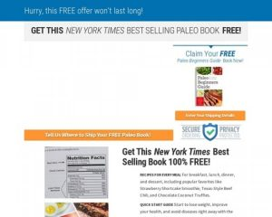 Paleo Reboot – 100% Commission On Nyt Bestseller!