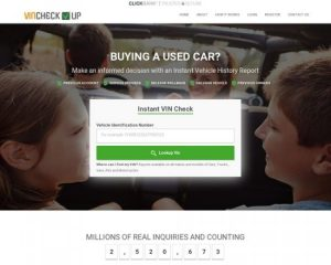 Vincheckup.com – Instant Vehicle History Reports