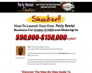 Party Rental Profits