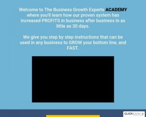 The Business Growth Experts Online Course