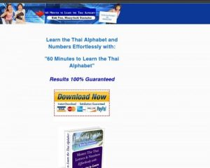 60 Minutes To Learn The Thai Alphabet